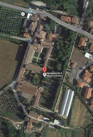 Rignano sull'Arno, Italia: Il sito dell'Abbazia di Rosano