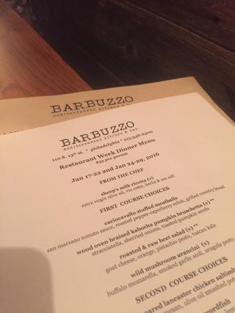 Barbuzzo Photo