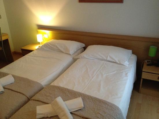 Hotel Stella d'Oro : Letti