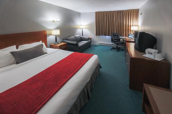 Howard Johnson Quebec City : Comfort King Room