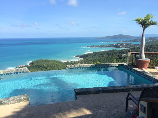 North Side, St. Thomas: Unbelievable views!!