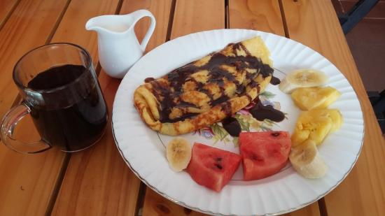 Truong Giang hotel: breakfast