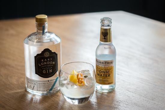 Radstock, UK: Gin served with love