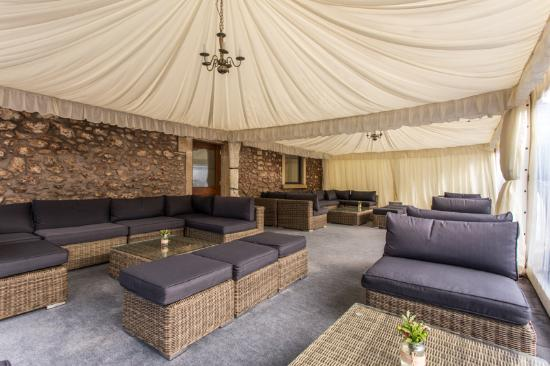 Radstock, UK: Drinks marquee available for private hire