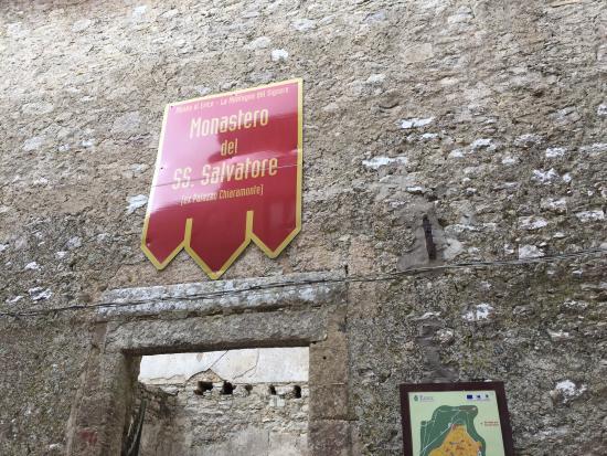 I Ruderi del Monastero del Santissimo Salvatore