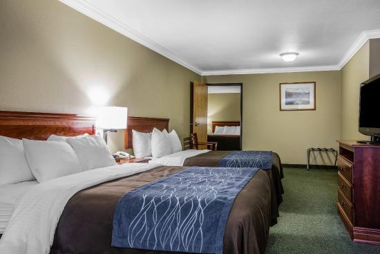 Fortuna, Καλιφόρνια: Guest Room
