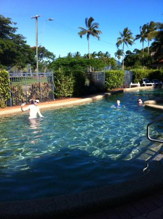 cooling off in the pool picture of north cove waterfront suites rh tripadvisor com au