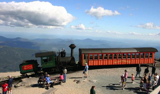 Whitefield, NH: Cog Railway