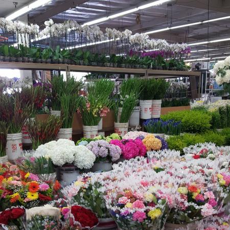 Flower Market: La flower  market