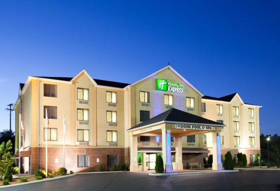 Welcome to the Holiday Inn Express in Hillsville