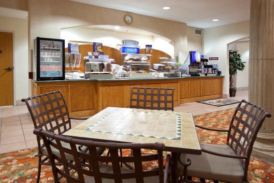 Belen, Nouveau-Mexique : Breakfast Area