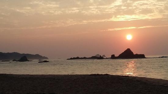 Hostal La Isla: Increíble amanecer!!
