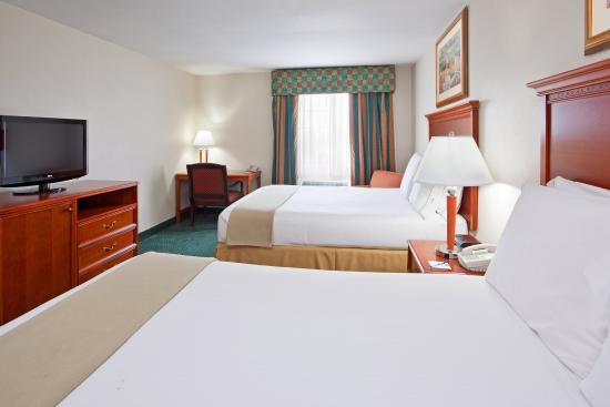 Holiday Inn Express Birch Run (Frankenmuth Area): Double Bed Guest Room
