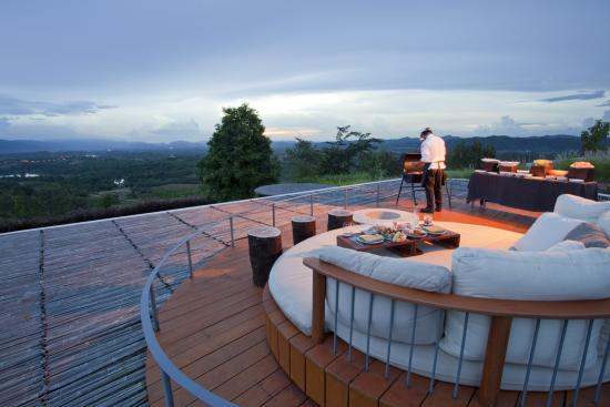 Sala Khaoyai: rooftop barbeque