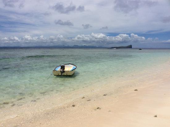Ile Plate Beach: L'île plate