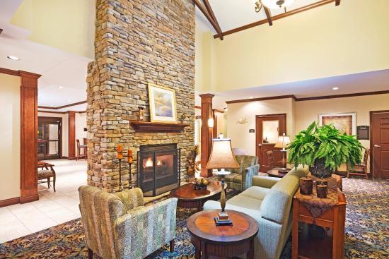 Oak Ridge, TN: Hotel Lobby