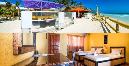Marlin's Beach Resort : Beach/Room