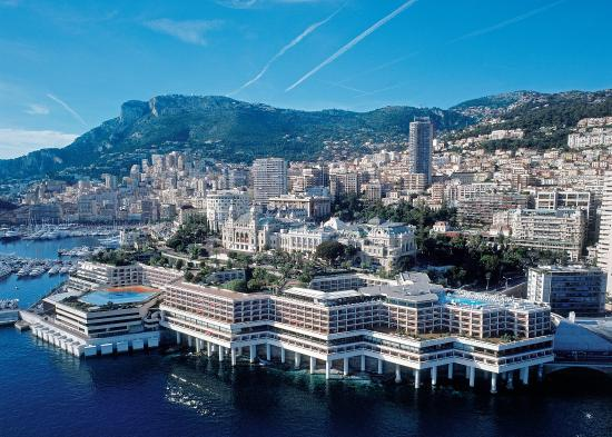 Fairmont Monte Carlo: From the sea