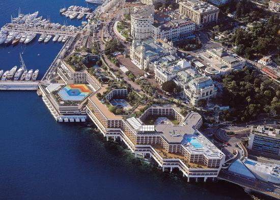 Fairmont Monte Carlo: From the sky