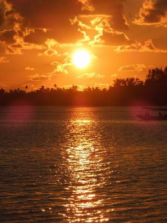 Troppo Mystique: One of the gorgeous sunsets