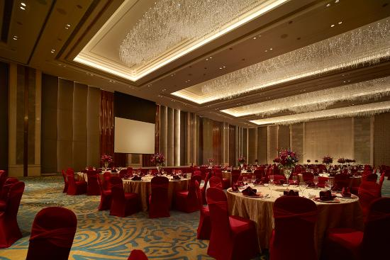 Tangshan, Chine : Shangri-La Ballroom Chinese Wedding