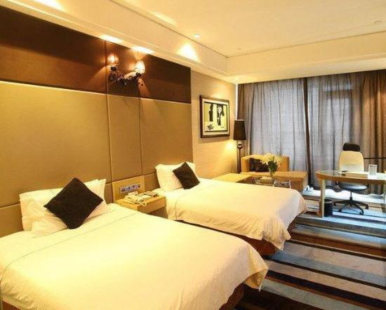 Rizhao, China: Business Seaview Twin Room