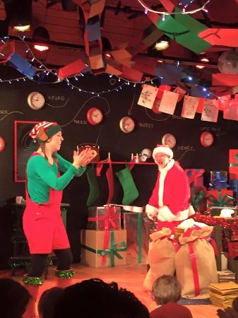 Oxford Playhouse: Elf and Father Christmas