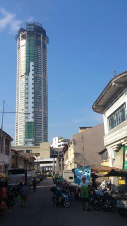 The Komtar Tower Under Renovation Foto Komtar Georgetown