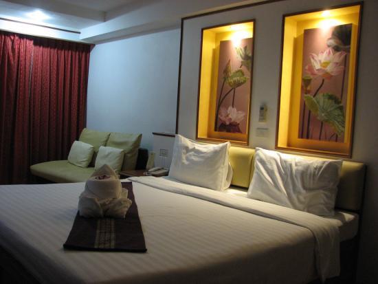 KC Place Hotel Pratunam: 室内の様子