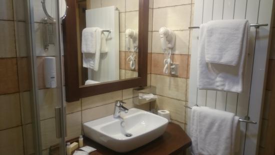 Hotel Safari: Bathroom