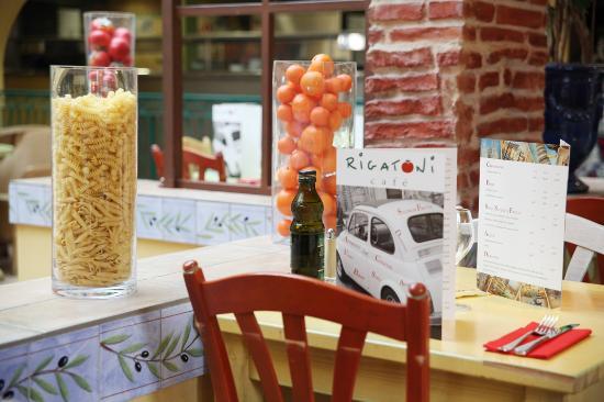 Rigatoni Cafe Saint Thibault