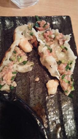 Waitakere City, Nova Zelândia: Undercook PORK dumplings