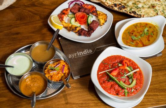 Ayr India: Delicious Food, First Class Service & Cool surroundings