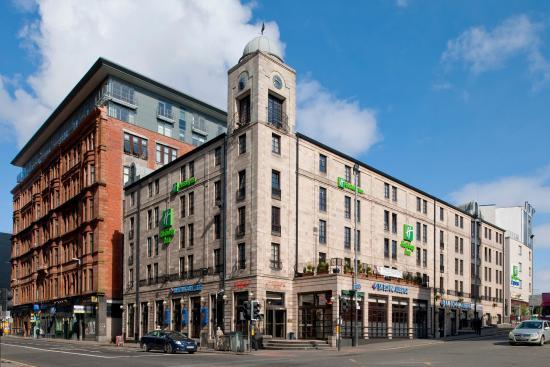 Holiday Inn Glasgow City Centre Theatreland: Holiday Inn Theatreland opposite Royal Glasgow city Concert Hall