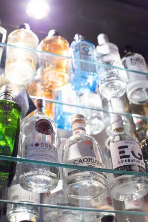 Grantown-on-Spey, UK: The Gin Collection