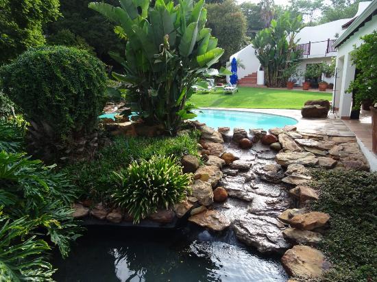 Rivonia, Republika Południowej Afryki: View from room no. 1