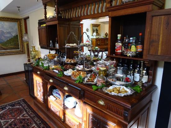 Rivonia, Republika Południowej Afryki: Breakfast buffet