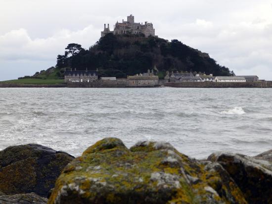 Marazion, UK : Blick zum Schloss