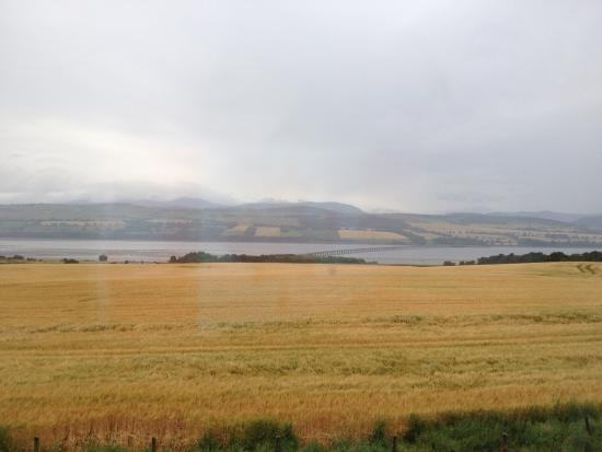Culbokie, UK: View to the Highlands