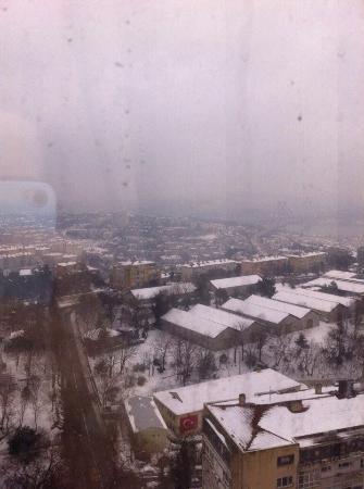 The Plaza Hotel Istanbul: Вид из номера