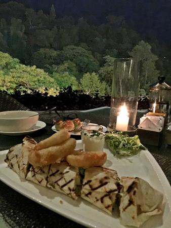 Padma Hotel Bandung: Dinner with a view
