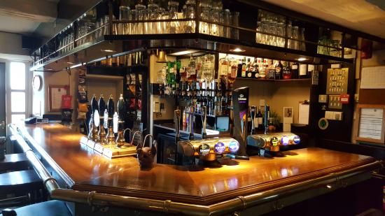 Langho, UK: Central Bar Area