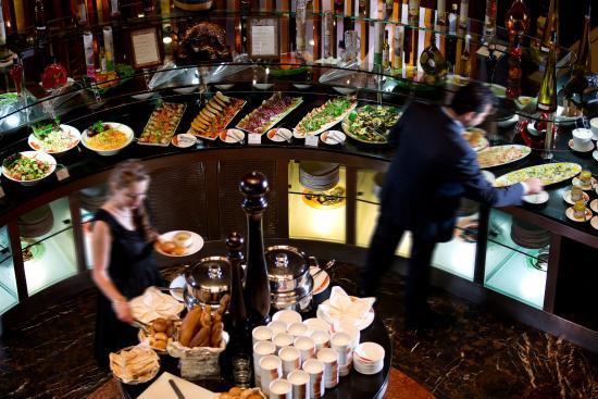 InterContinental Abu Dhabi: Chamas Brazilian Restaurant Salad Buffet