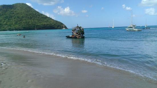 Rodney Bay: Superbe journée