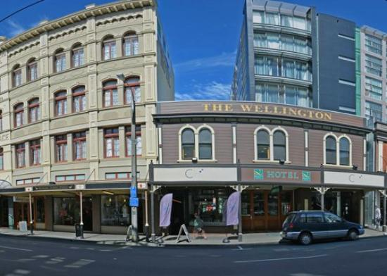 Quality Hotel Wellington: Exterior