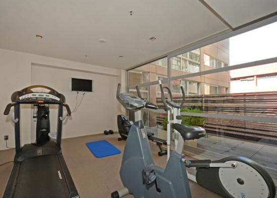 Quality Hotel Wellington: Fitness Room