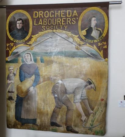 County Louth, Irlande : A guild banner