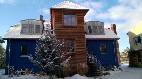 BluGarden Apartments: widok z zewnątrz