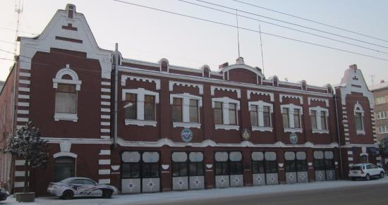 ‪The First Fire Station in Krasnoyarsk‬
