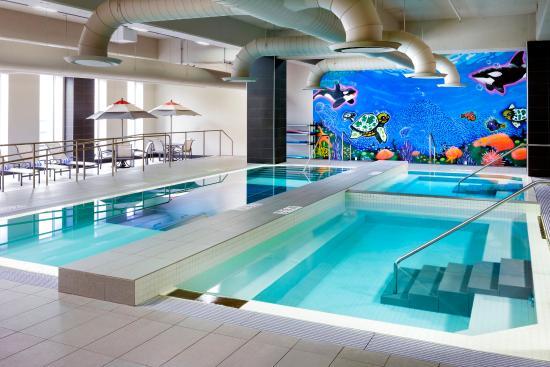 Le Westin Montreal: Indoor Pool